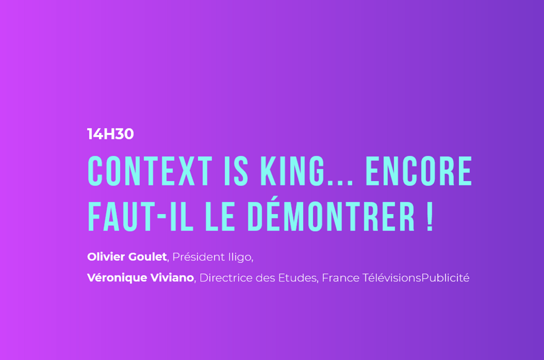 Context is king - Forum de l'irep iligo