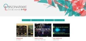 L'observatoire Data & Créativité by iligo