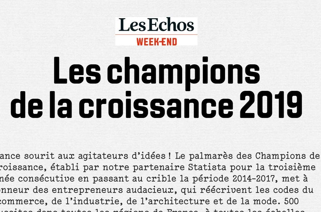 Les Champions de la Croissance 2019